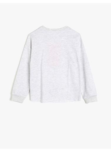 Koton Kids Sweatshirt Beyaz